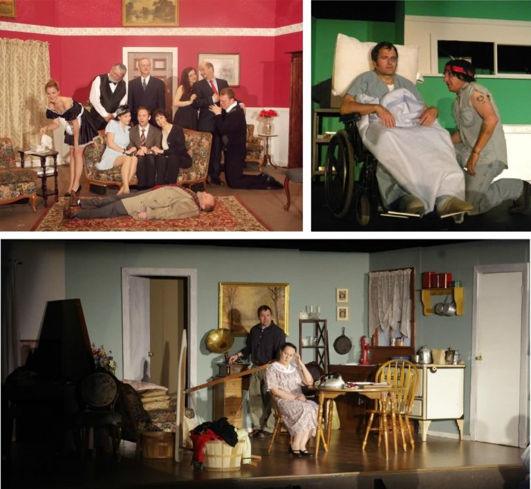 All an Act Theatre photo montage 2021